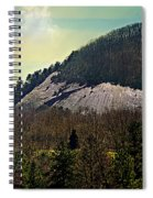 Spring Begins At Glassy Mountain Spiral Notebook