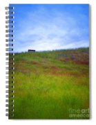 Spring Bench Spiral Notebook