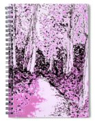 Blossoms  Of Life  Spiral Notebook