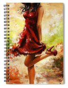 Spring Breeze Spiral Notebook
