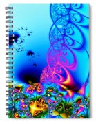 Spring Breezes Spiral Notebook