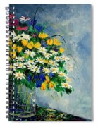 Spring Bunch  Spiral Notebook
