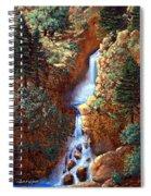 Spring Cascade Spiral Notebook