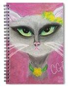 Spring Cat Spiral Notebook