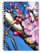 Spring Cherry Blossoms Spiral Notebook