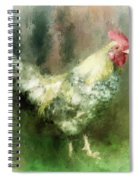 Spring Chicken Spiral Notebook