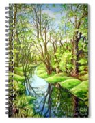 Spring Creek Spiral Notebook