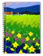 Spring Daffs Ireland Spiral Notebook