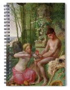 Spring, Daphnis And Chloe Spiral Notebook