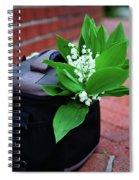 Spring Decoration Spiral Notebook