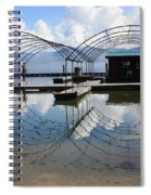 Spring Docks On Priest Lake Spiral Notebook