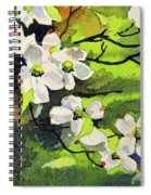 Spring Dogwoods Spiral Notebook