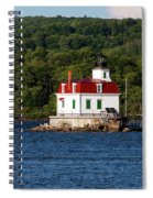 Spring Evening At Esopus Lighthouse Spiral Notebook