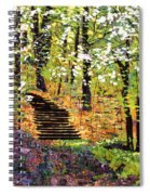 Spring Fantasy Forest Spiral Notebook