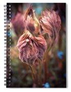 Spring Flora Spiral Notebook