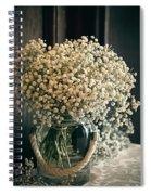 Spring Flower Arrangement Spiral Notebook