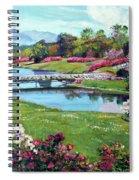Spring Flower Park Spiral Notebook