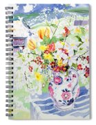 Spring Flowers On The Island Spiral Notebook
