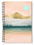 Spring Forest Lake Spiral Notebook