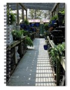 Spring Garden Center Spiral Notebook