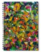 Spring Garden Spiral Notebook