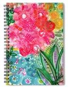 Spring Garden- Watercolor Art Spiral Notebook