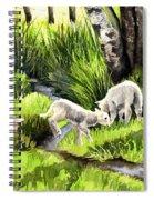 Spring Grasses Spiral Notebook
