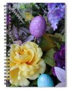Spring Greetings Spiral Notebook