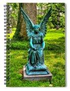 Spring Grove Angel Spiral Notebook