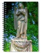 Spring Grove Angel Statue Spiral Notebook