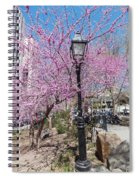 Spring In  Columbus Park 1 Spiral Notebook