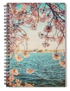Spring In Dc Spiral Notebook