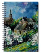 Spring In Fays Famenne Spiral Notebook