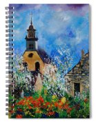 Spring In Foy Notre Dame Dinant Spiral Notebook