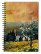 Spring In Gendon Spiral Notebook