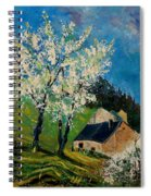 Spring In Hierges  Spiral Notebook