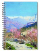 Spring In Italy Spiral Notebook
