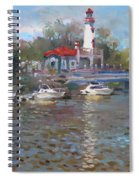 Spring In Lake Shore Spiral Notebook
