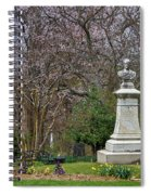 Spring In Oak Hill Cemetery #3 Spiral Notebook
