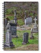 Spring In Oak Hill Cemetery #4 Spiral Notebook