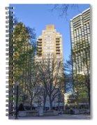 Spring In Philadelphia - Rittenhouse Square Spiral Notebook