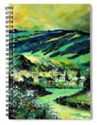 Spring In Tha Ardennes Spiral Notebook