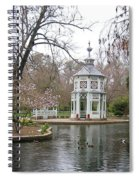 Spring In The Aranjuez Gardens Spain Spiral Notebook