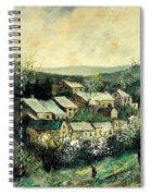 Spring In The Ardennes Belgium Spiral Notebook