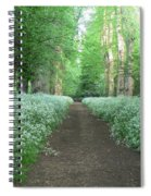 Spring In The Avenue Spiral Notebook