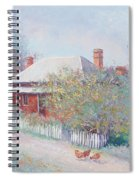 Spring In The Country Spiral Notebook
