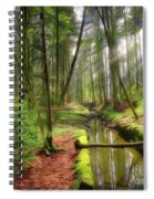 Spring In The Forest Spiral Notebook