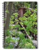 Spring In The Mountains At American Fork Canyon Utah Spiral Notebook
