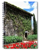 Spring In The Napa Valley Spiral Notebook