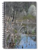 Spring In The Wetlands Spiral Notebook